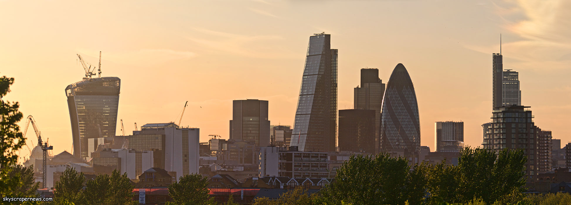 Skyscrapernews Com Image Library 1079 London From
