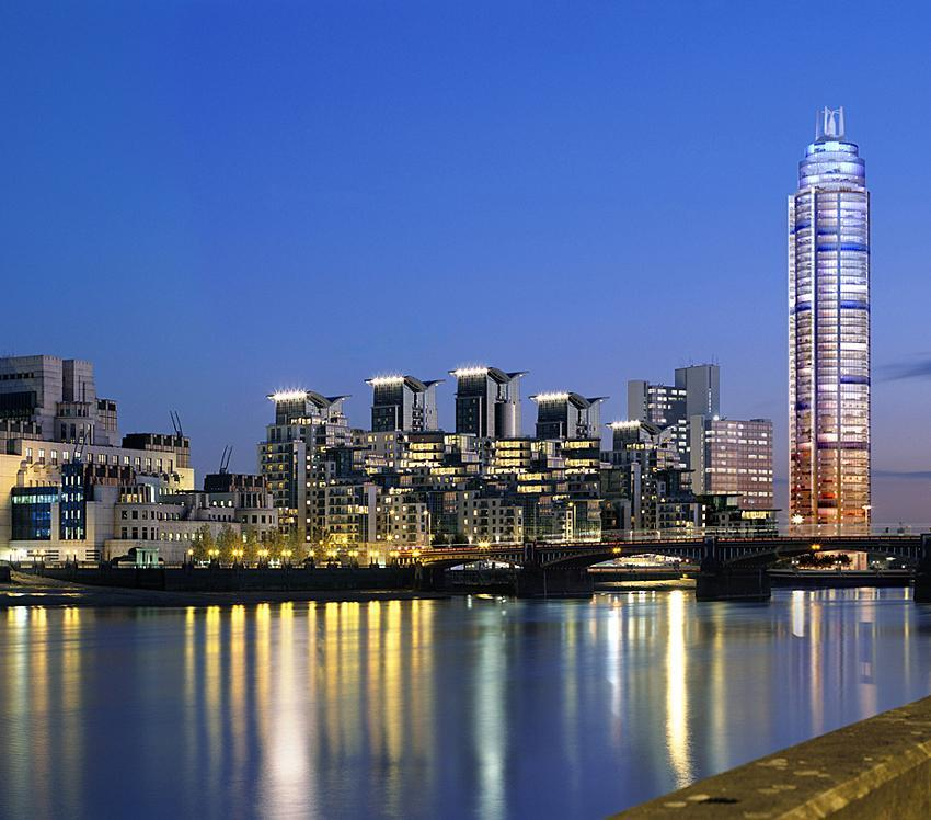 London St George Wharf Tower 181m 50 Fl Com Skyscrapercity