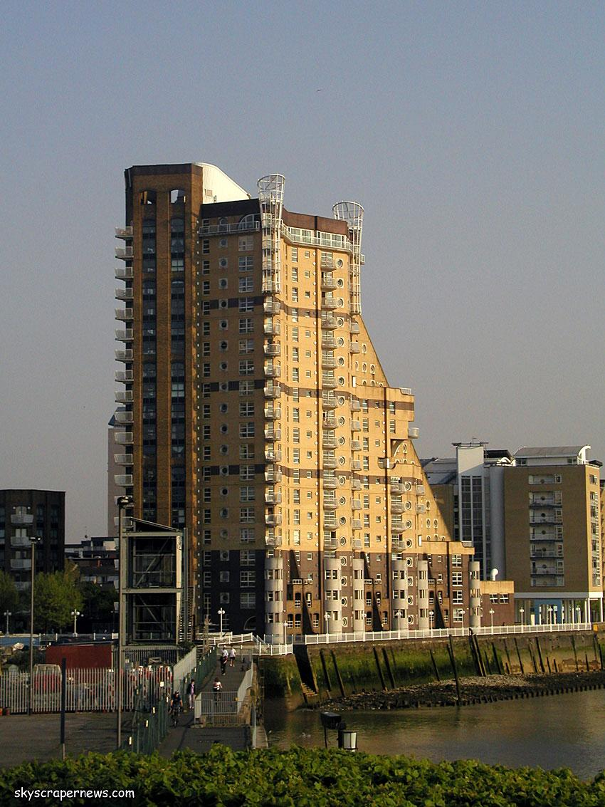 The Cascades in Docklands