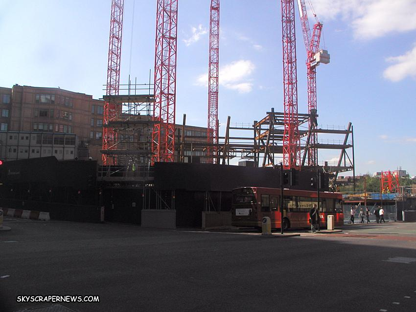 Broadgate Tower under construction June 2006