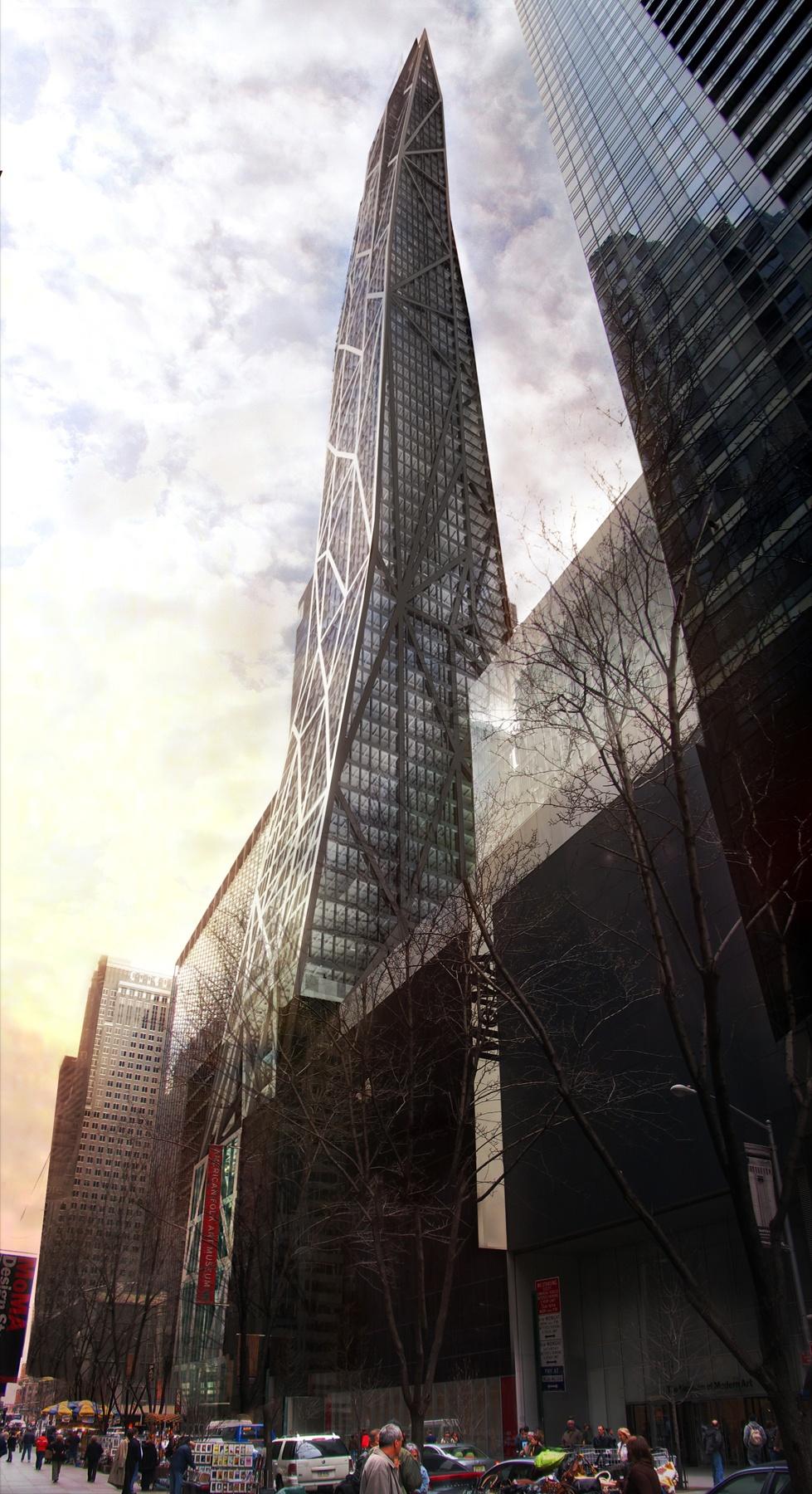 New york tower verre 53w53 320m 1050ft 77 fl u c skyscrapercity - Tour de verre marseille ...