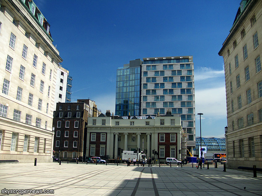 New construction pics and stuff skyscrapercity for London appart hotel