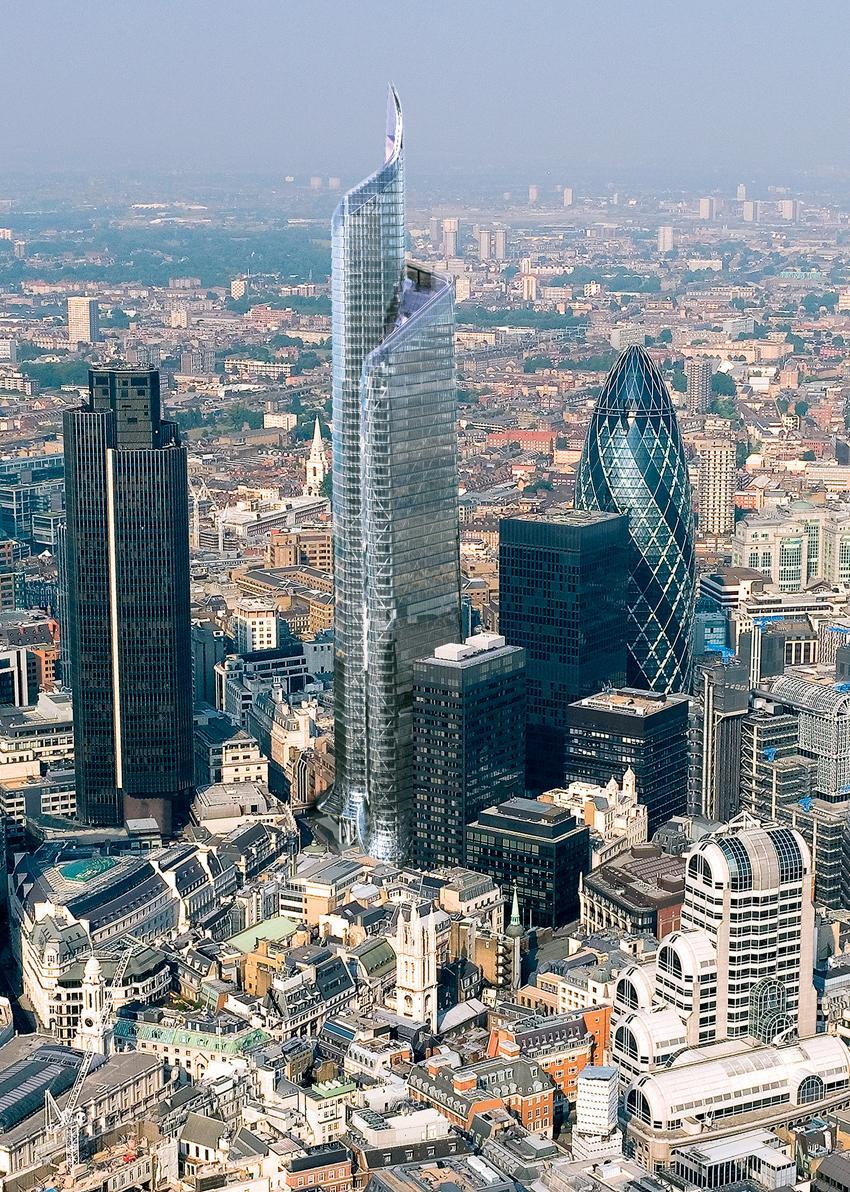 Twentytwo 22 Bishopsgate City Of London 278m 62 Fl