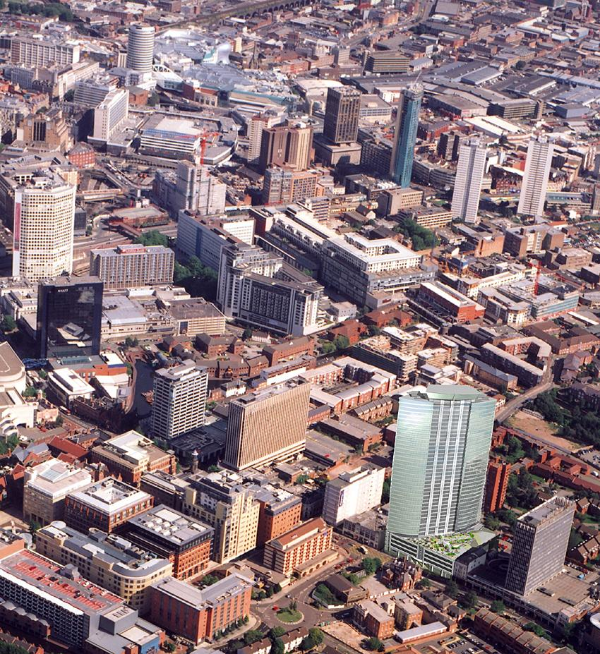 Birmingham Building Trade Towers Birmingham