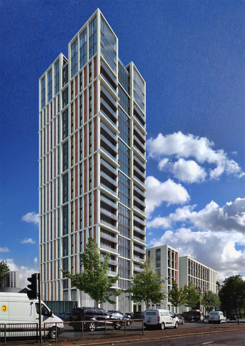 Theatre Square Swiss Cottage 82m 24 Fl Approved