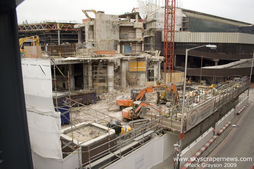 The Shard site, 2009