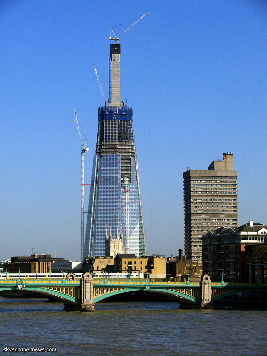The shard building data building images companies