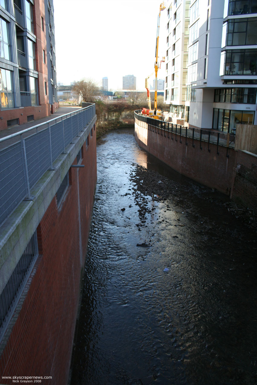 Vivo site and River Medlock 12/2/08