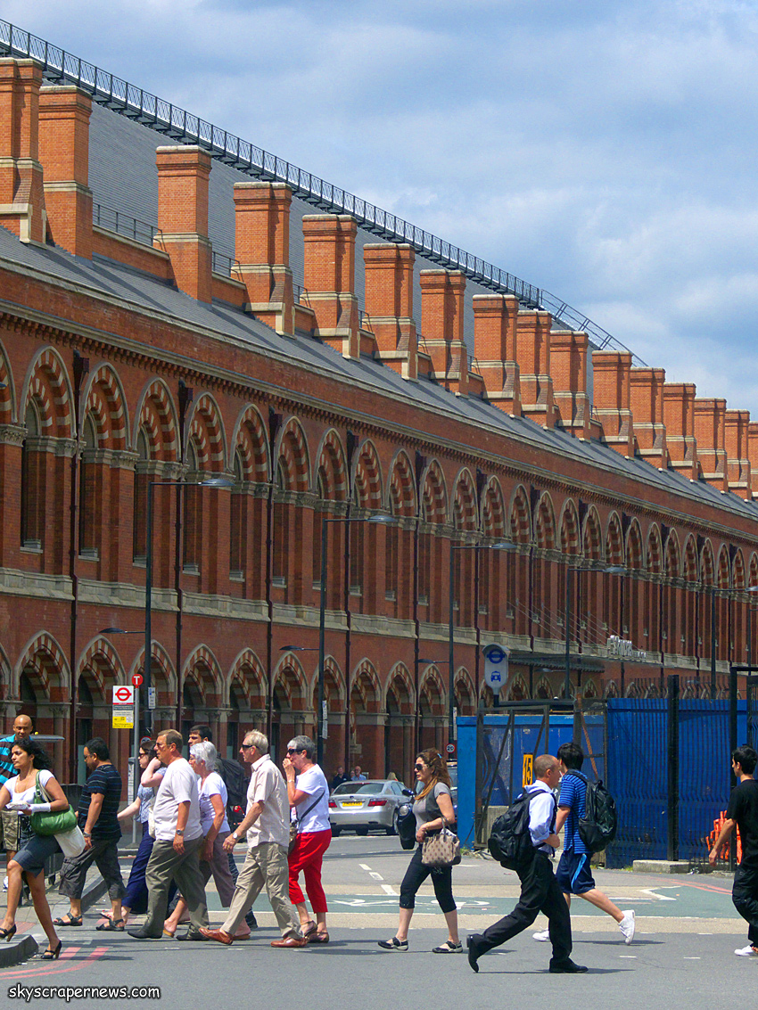 St Pancras Station Train Shed