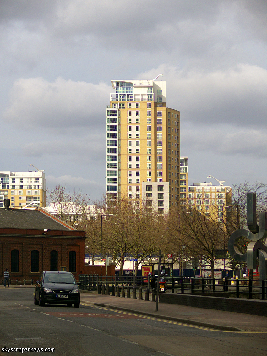 Berkeley Tower, Canary Wharf