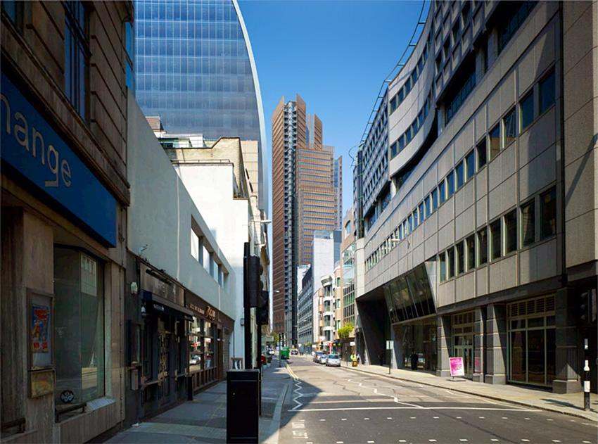 One Bishopsgate Plaza City Of London 136m 43 Fl U