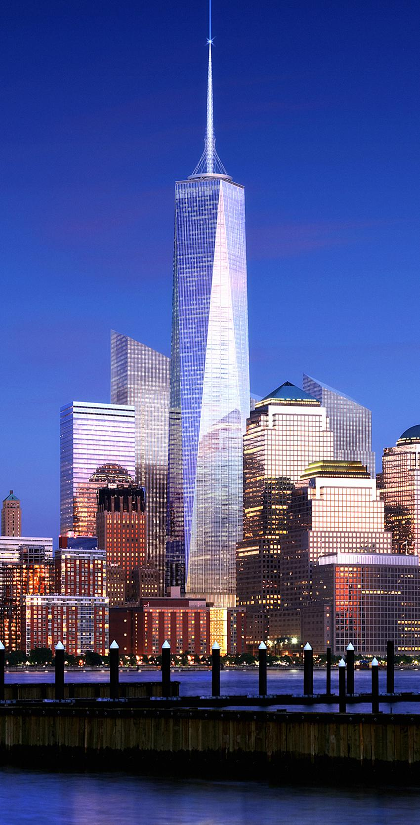 freedom tower nyc 544m skyscrapercity