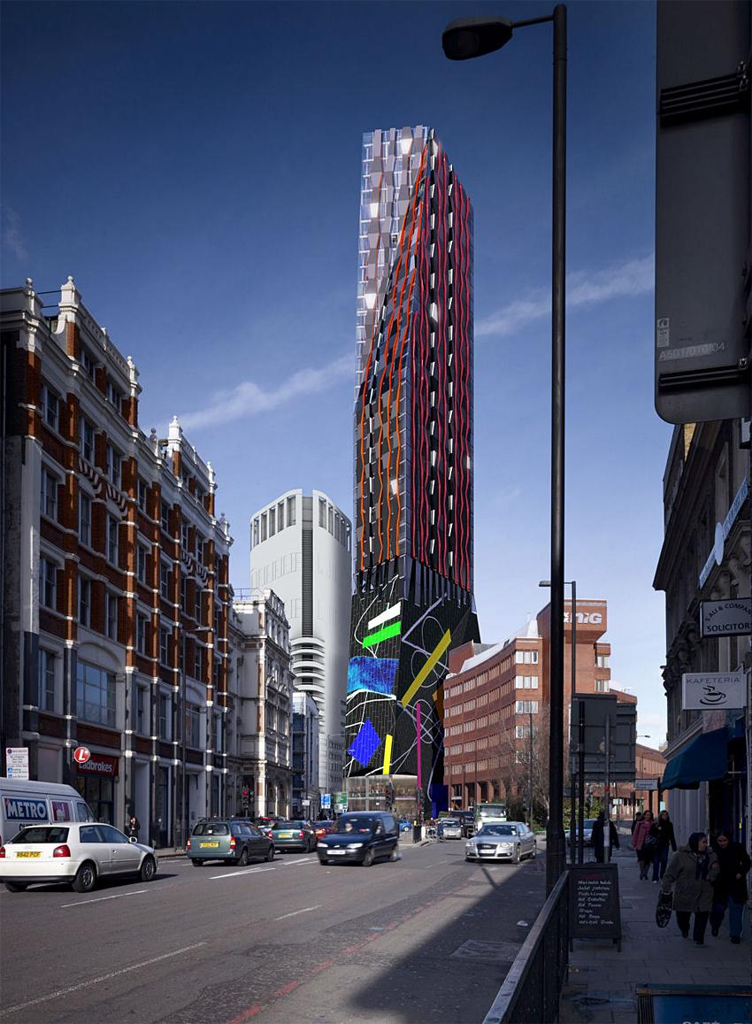 Alsop and McLean Plan New City Fringe Tower