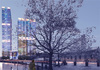 Rendering of the Landmark Canary Wharf