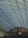 St Pancras restored Barlow train shed