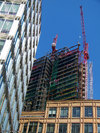 Broadgate Tower under construction May 2007