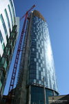 Beetham Tower West under construction May 29 2007