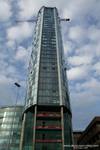 Beetham Tower West under construction June 2007