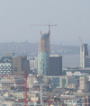 Beetham Tower West under construction April 2007
