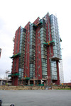 ISIS Wharf Tower construction 30/01/2008