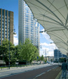 The view from Stratford bus station