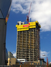St Pauls Tower under construction in March 2009
