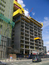 City Lofts St Pauls Tower under construction, June 2002