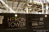 Heron Tower's steelwork