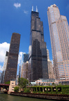 The Willis Tower, formerly Sears Tower, in Chicago