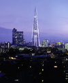 The Shard from east London