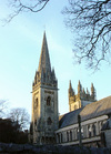 Llandaff Cathedral's west towers