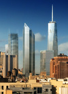 The planned WTC, New York City