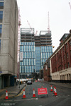3 Hardman Street under construction January 19/1/2008