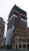 20 Fenchurch Street under construction, 20/10/2012