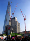 The Shard under construction, March 2012