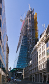 122 Leadenhall Street under construction, 20/04/2013