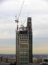 Heron Tower under construction, London