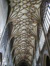 Vaulted ceiling at St Mary Redcliffe Church Bristol