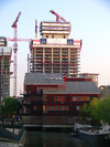 The Landmark West under construction May 2008